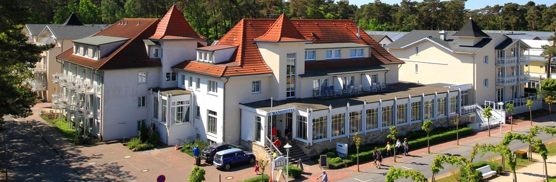 Hotel Villa Sano Im Ostseebad Baabe